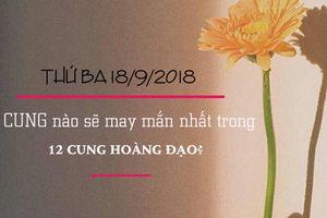 Tử vi của 12 cung hoàng đạo thứ Ba ngày 18/9/2018: Kim Ngưu hứng chịu một ngày không suôn sẻ