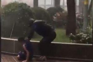 Clip: Hồng Kông thất thủ trước siêu bão Mangkhut