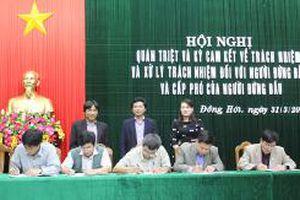 Triển khai Quy định 01-QĐ/TU- Bước thực hiện có hiệu quả Nghị quyết Trung ương 4 (khóa XII) ở Quảng Bình