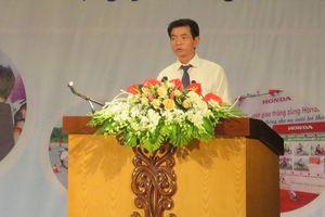 Phát ng chin dch 'ATGT cùng Honda Vit Nam' ti Vnh Phúc