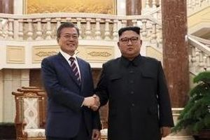 Ông Kim nói với TT Moon: Gặp TT Trump giúp ổn định chính trị khu vực