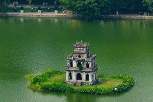 Tháp Rùa ở Hà Nội được xây vào năm nào?