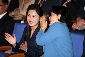Phu nhân Hàn - Triều thân thiết khi cùng nghe hòa nhạc