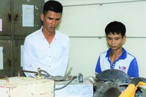 Hai gã trai thực hiện 15 vụ trộm trong 1 tháng