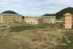 Trường nghề trăm tỷ 'ngủ quên' sau 8 năm xây dựng