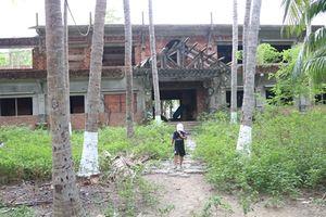 Khu du lịch sinh thái xây dựng 13 năm vẫn không xong