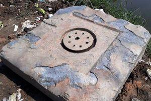 Huế: Phát hiện bệ đá nghi biểu tượng Yoni của văn Champa