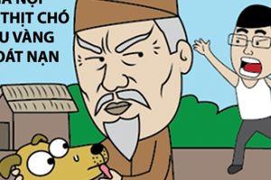 'Cậu Vàng' thoát nạn khi nghe tin Hà Nội cấm thịt chó