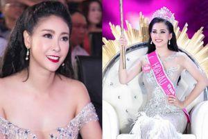 Mặc váy mỏng như sương, HH Hà Kiều Anh nhắn nhủ Hoa hậu Trần Tiểu Vy