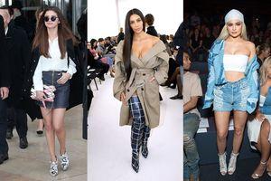 Cứ tới Tuần lễ thời trang nào là dàn sao Hollywood này lại ngồi hàng ghế quyền lực, chiếm spot light