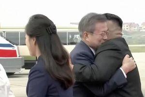 Ông Kim Jong-un ra tận sân bay đón Tổng thống Hàn Quốc