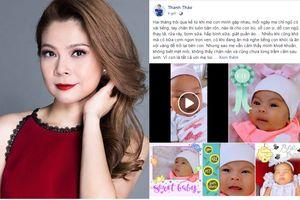 Làm m  tui t tun, Thanh Tho tri lòng xúc ng sau hai tháng sinh con