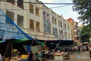 Công ty CP Thực phẩm Hà Nội bị tố 'phủi' trách nhiệm khi thi công làm hỏng nhà dân