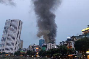 Quận Ba Đình thông tin về vụ cháy tại đường La Thành