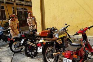 Thừa Thiên Huế: Tạm giữ nhiều xe mô tô giá trị lớn, không rõ nguồn gốc