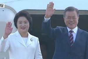 Tổng thống Hàn Quốc lên đường tới Triều Tiên