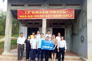 MTTQ huyện Lâm Thao (Phú Thọ): Xóa nhà tạm, trao mái ấm