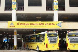 Lào Cai: Khánh thành bến xe Sapa