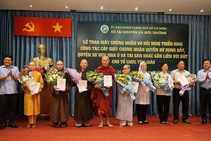 TP.HCM: Hơn 800 khu đất cơ sở tôn giáo đã được cấp giấy