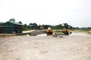 Dự án đường nối Quốc lộ 3 - Cụm công nghiệp Sóc Sơn: 10 năm chưa xong giải phóng mặt bằng
