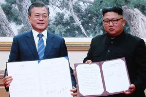 'Tò mò' với thỏa thuận thượng đỉnh Kim Jong-un - Moon Jae-in