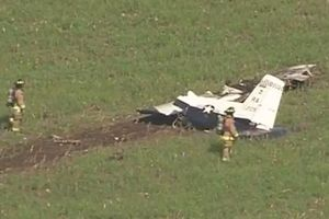 Máy bay Mỹ nát vụn sau sự cố thiếu oxy
