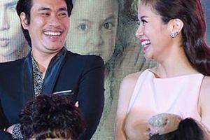 Kiều Minh Tuấn vui vẻ cạnh An Nguy nhưng từ chối nhắc lại 'tình tay 3'