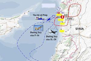 Syria bắn nhầm máy bay quân sự Nga