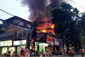 Vụ cháy lớn trên đường La Thành: Nhiều người thuê trọ bơ vơ