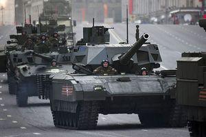 Trang bị tên lửa chống tăng 152mm, T-14 Armata mạnh gấp bội