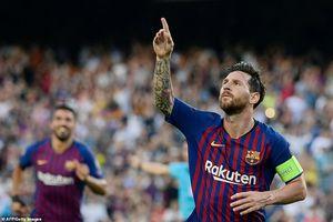 Mãn nhãn với cú hattrick của Messi vào lưới PSV Eindhoven!