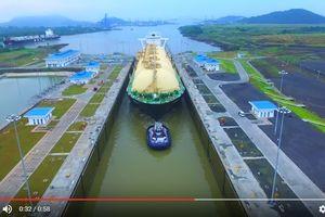 Lượng LNG của Mỹ đi qua Kênh đào Panama tăng đột biến