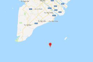 2 ngư dân bị rơi xuống biển tại vùng biển phía Nam