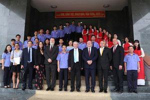 Đoàn đại biểu Viện kiểm sát tối cao Hungary thăm và làm việc tại Trường Đại học Kiểm sát Hà Nội