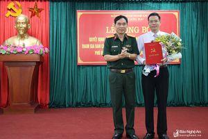 Công bố quyết định điều động, chỉ định giữ chức Phó Bí thư Thị ủy Hoàng Mai