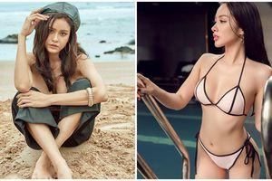 Hậu chia tay, ly hôn hai mỹ nữ này lại táo bạo không ngờ: Kẻ để ngực trần, người diện bikini bé xíu