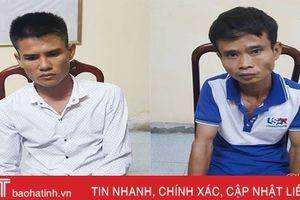 Khởi tố 2 gã đạo chích đột nhập lán công trường trộm tài sản