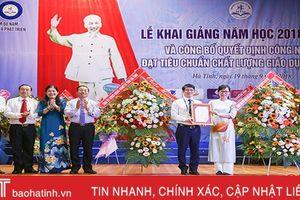 Trường Đại học Hà Tĩnh chào đón 1.050 tân học sinh và sinh viên