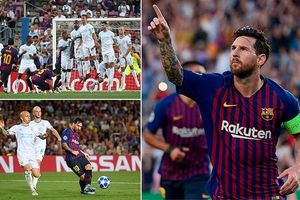 Messi lập hat-trick, Liverpool hú vía
