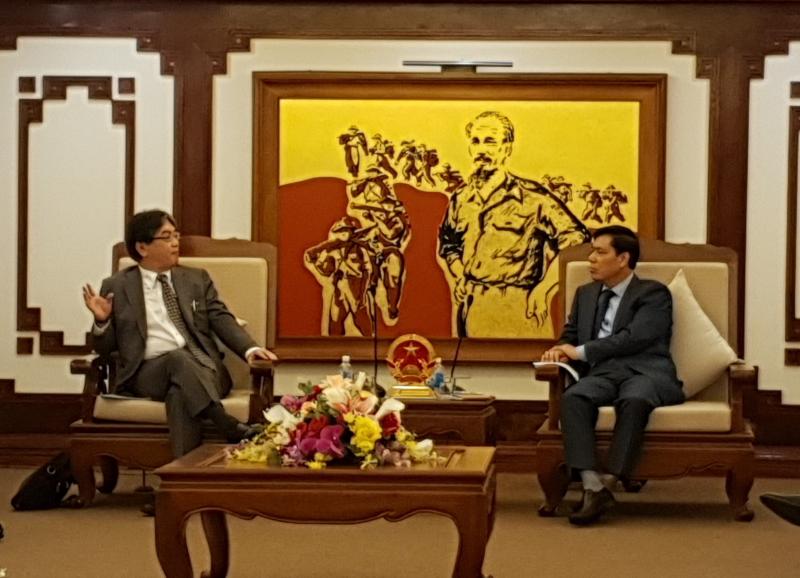 JBIC tìm kiếm cơ hội hợp tác hạ tầng giao thông tại Việt Nam