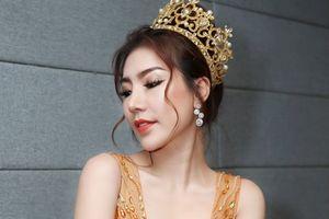 Hoàng Y Nhung khoe vẻ đẹp rạng ngời, đầy cuốn hút trong 'Hoa hậu doanh nhân Việt Nam toàn Thế giới 2018'