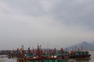 Nghệ An: Hàng loạt tàu cá neo đậu trái phép tại cảng Cửa Lò