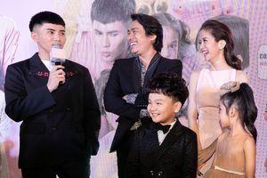 Kiều Minh Tuấn - An Nguy giữ khoảng cách khi dự lễ ra mắt phim