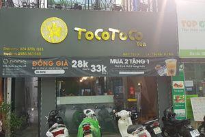 Trà sữa Tocotoco bị 'tố' sản xuất không đảm bảo vệ sinh an toàn thực phẩm