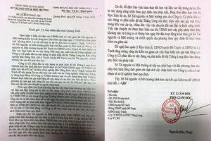 Quảng Bình: Vụ đem đất dự án ra ngoài bán, Sở TN&MT vào cuộc