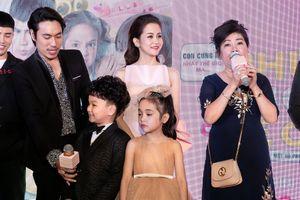 An Nguy va Kiều Minh Tuấn 'ngó lơ' nhau tại sự kiện ra mắt phim