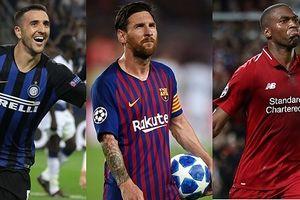 Messi và đội hình xuất sắc nhất loạt trận Champions League đêm qua