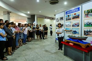 Triển lãm hình ảnh, hiện vật về biển, đảo, biên giới tại Điện Biên
