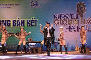 70 thí sinh cạnh tranh cho 10 suất vào chung kết Giọng hát hay Hà Nội