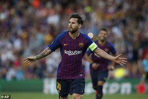 Messi tỏa sáng, Barcelona thắng hủy diệt trận ra quân Champions League